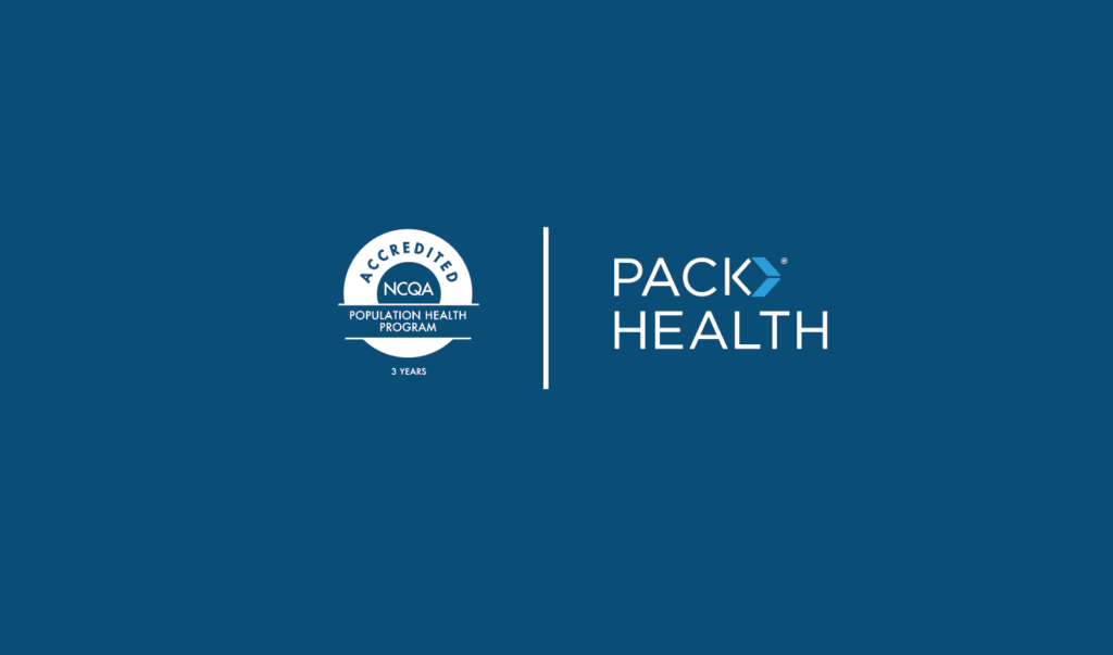 NCQA and Pack Health logo side by side